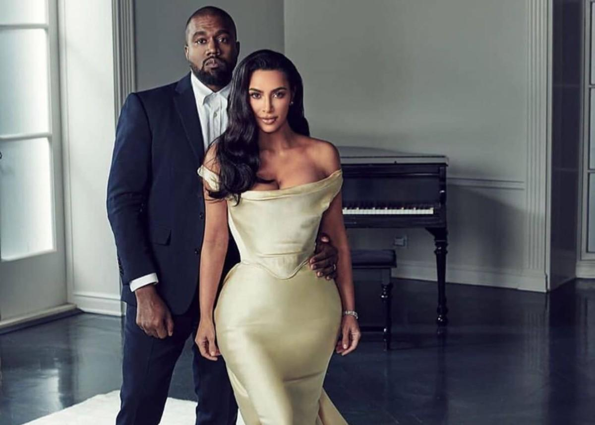 Kim Kardashian And Kanye West Put On United Front As Reports Say Divorce Is Looming Over The Couple