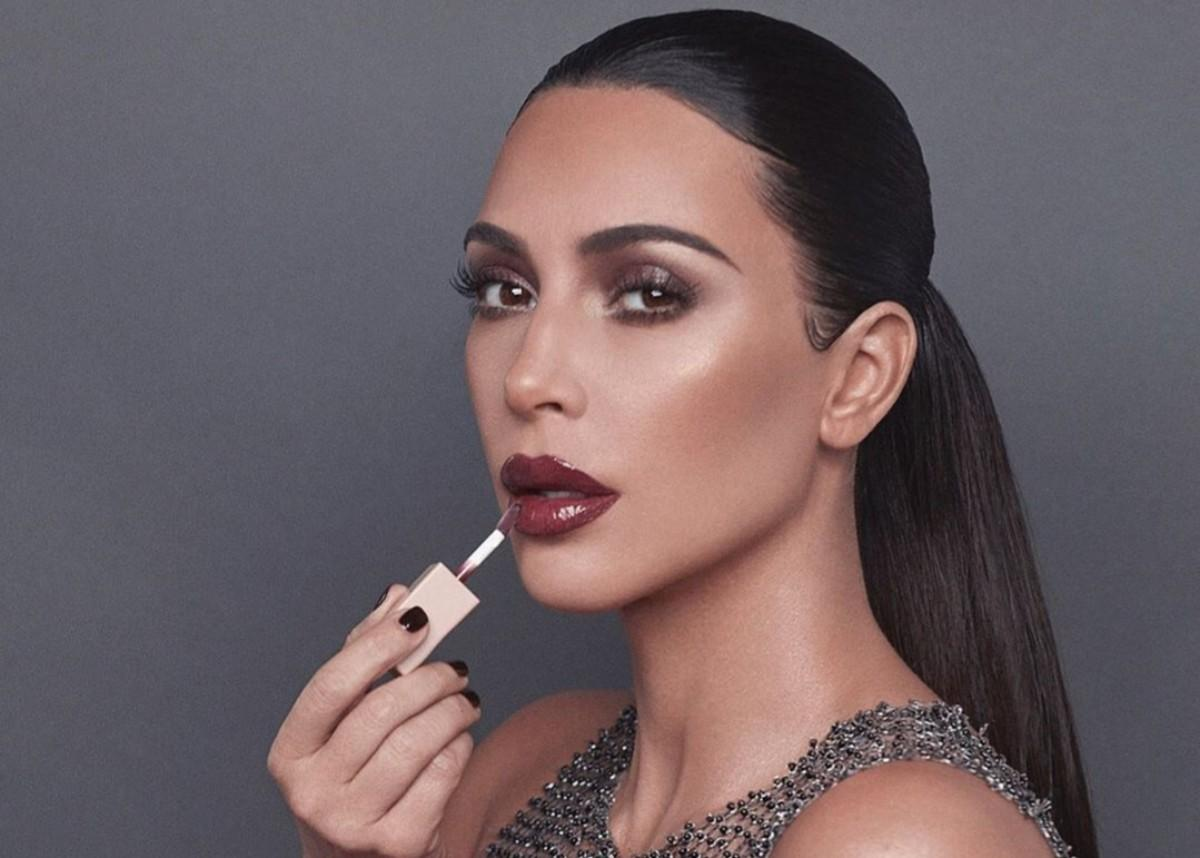 Kim Kardashian Accused Of Photoshop Fail After Sharing Photos For New Glitz & Glam KKW Beauty Collection