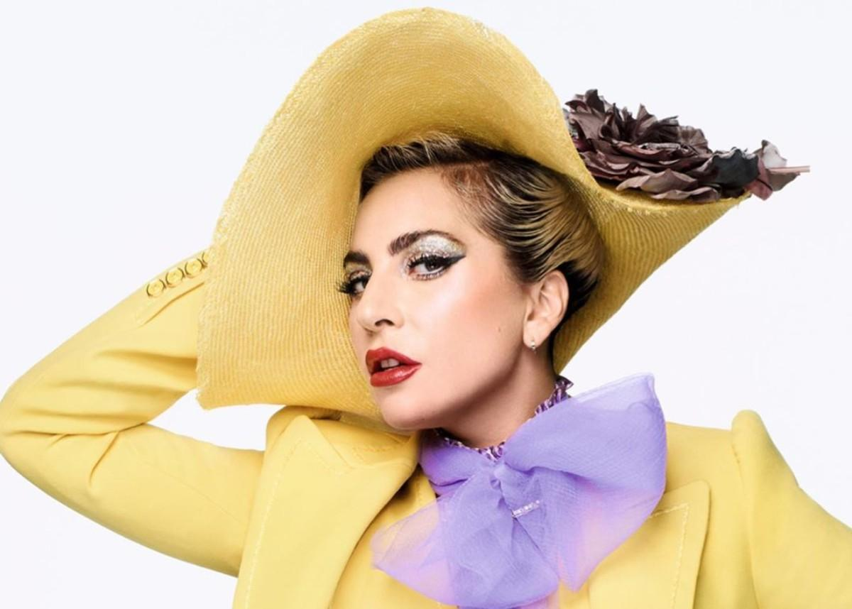 Lady Gaga Brings Haus Labs Makeup To Elle Magazine Cover