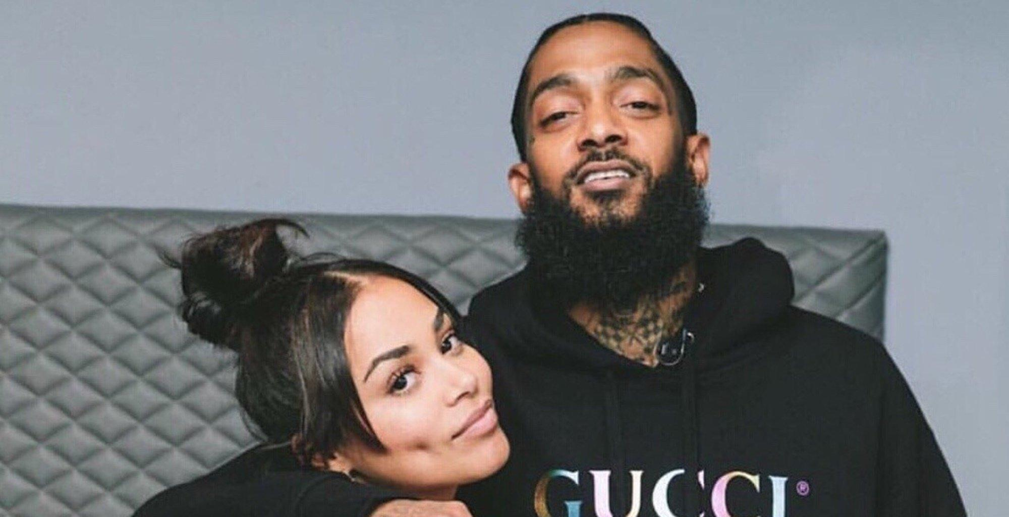 Lauren London Looks Like A Real Goddess In New Photo Wearing Stunning Feathery Outfit As She Remembers Nipsey Hussle