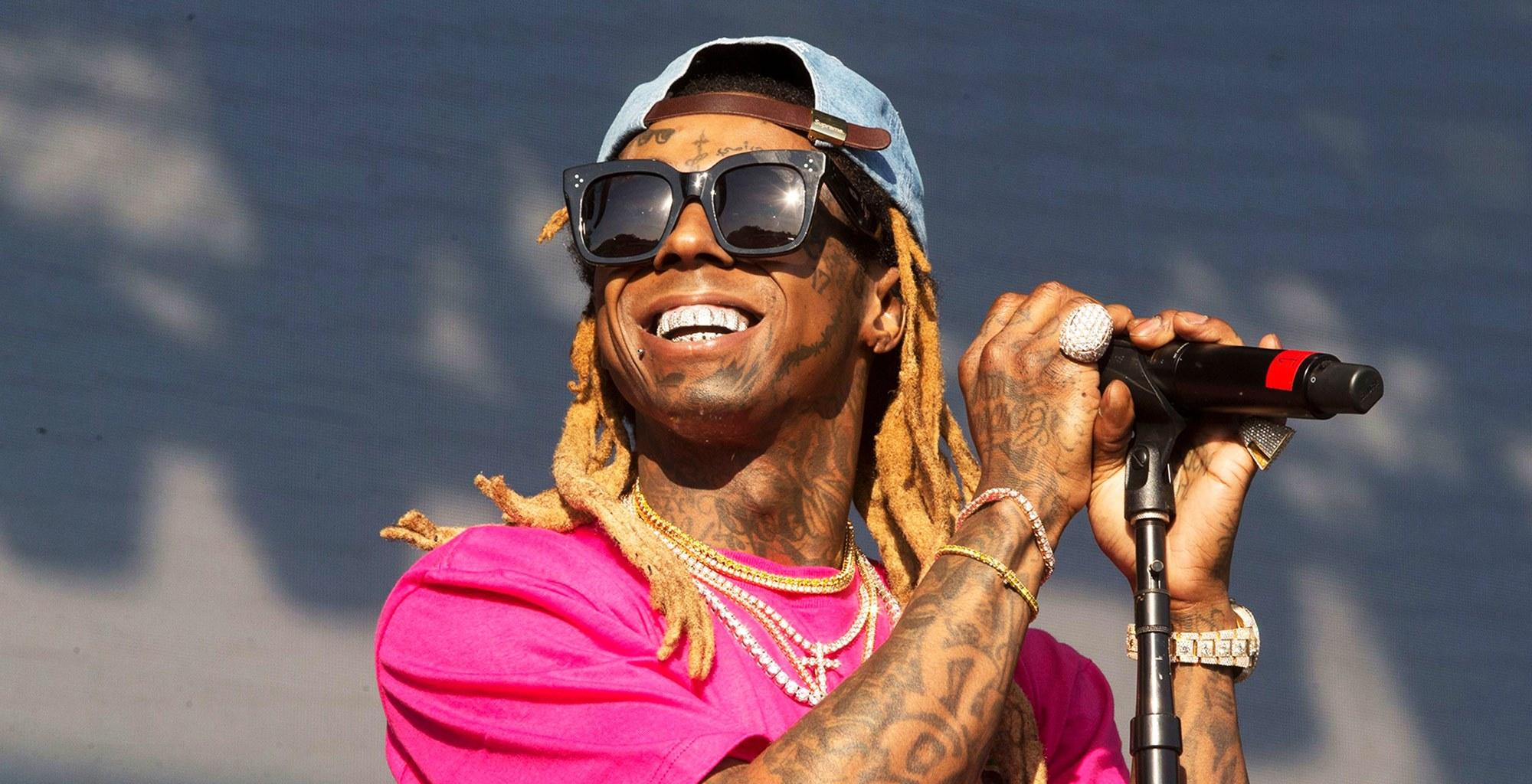 Lil Wayne Reacts With Epic Joke After Getting Caught Transporting Drugs And A Gold-Plated Gun On His Private Plane