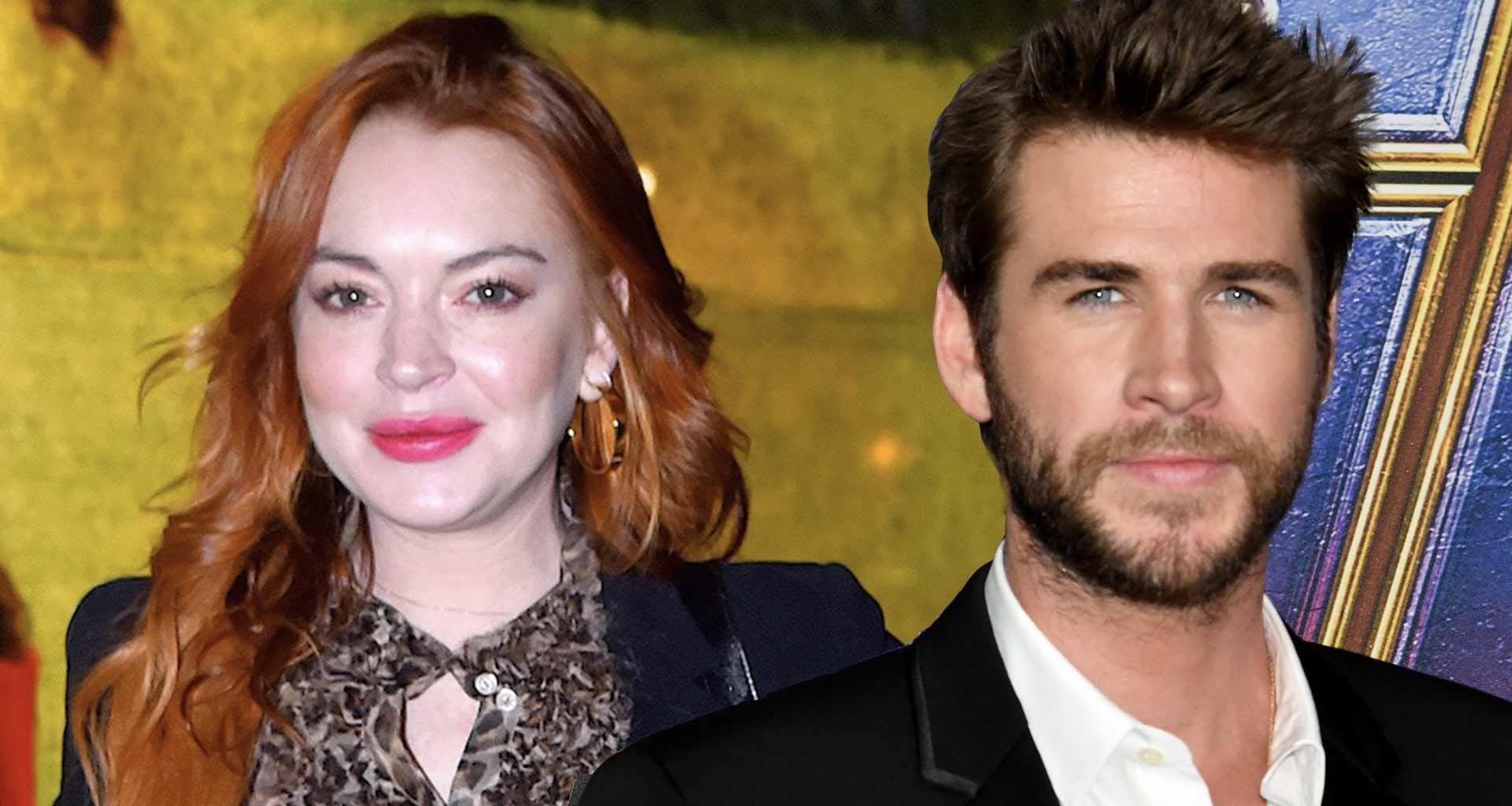 Lindsay Lohan Flirts With Liam Hemsworth Again And Gets Mocked For It!