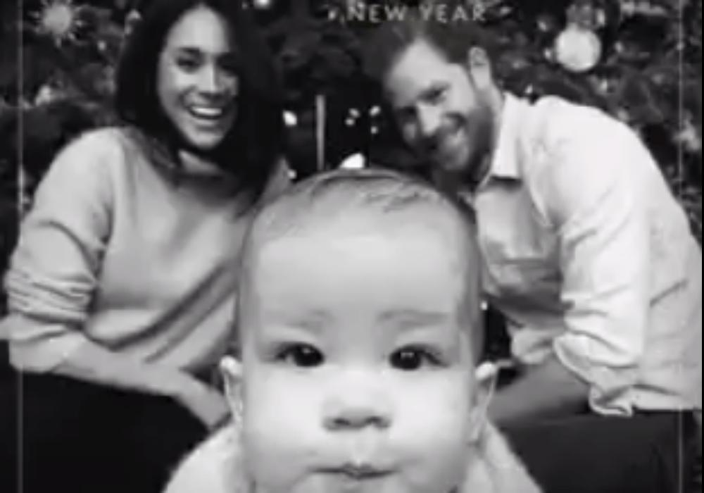 Meghan Markle Accused Of Photoshopping Her Face Into Family Christmas Card With Prince Harry And Archie Harrison