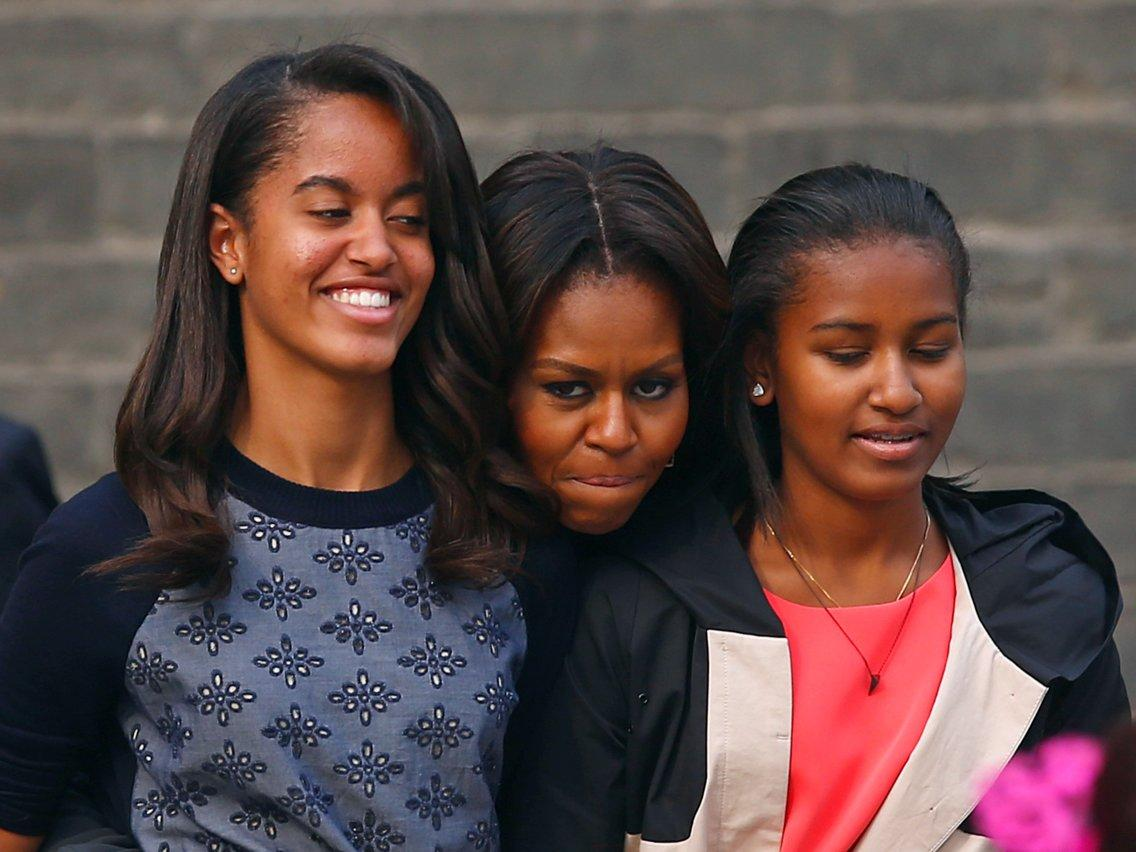 Michelle Obama Talks Dropping Sasha Off To College And How Older Sister Malia Helped