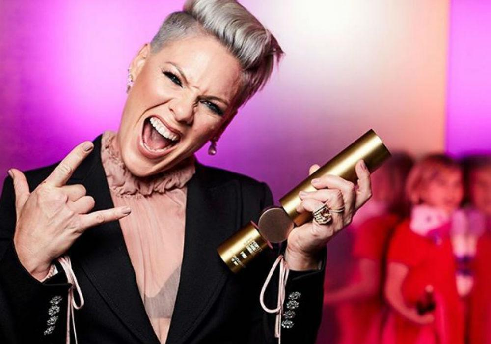 Pink Shaves Her Head To Show Her Fans That She's 'Letting Go'