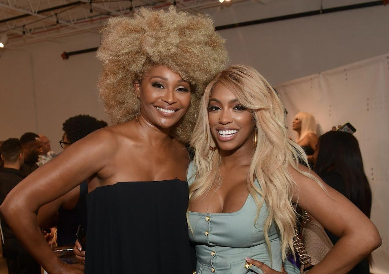 Porsha Williams Triggers Pregnancy Rumors - See This Pic With Cynthia Bailey; Is That A Baby Bump?