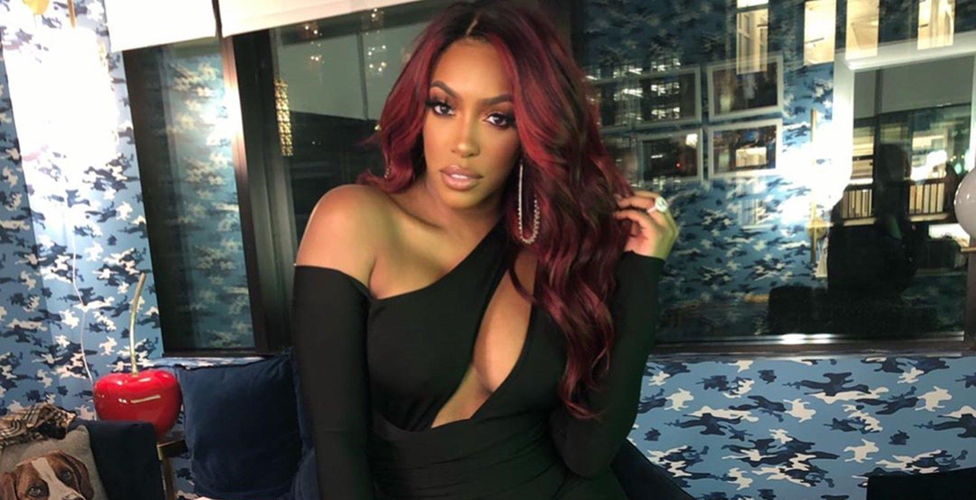 Porsha Williams' Daughter Looks Gorgeous In This Holiday Red Outfit - See The Video