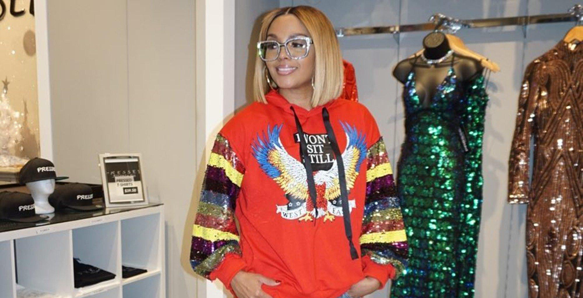 Rasheeda Frost Flaunts A Fiery Red Bob And Looks Amazing While Inviting Fans At Her Pressed Boutique