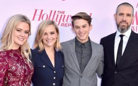 Reese Witherspoon Honored By Children Deacon And Ava Phillippe Before Receiving Sherry Lansing Leadership Award