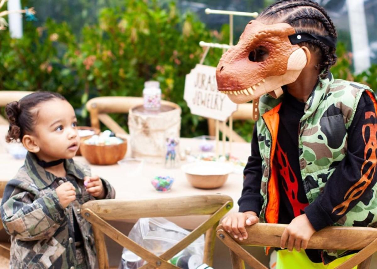 Kim Kardashian Shares Even More Epic Photos Of Saint West's Fourth Birthday Party — Internet Goes Crazy Over Kanye And Chicago