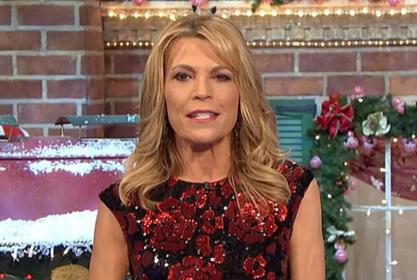 Vanna White Is Having A Blast Hosting Wheel Of Fortune But She's Not Out To Steal Pat Sajak's Job
