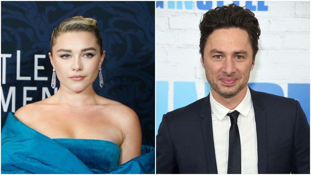 Florence Pugh Claps Back After Troll Criticizes Her And Zach Braff's Age Difference