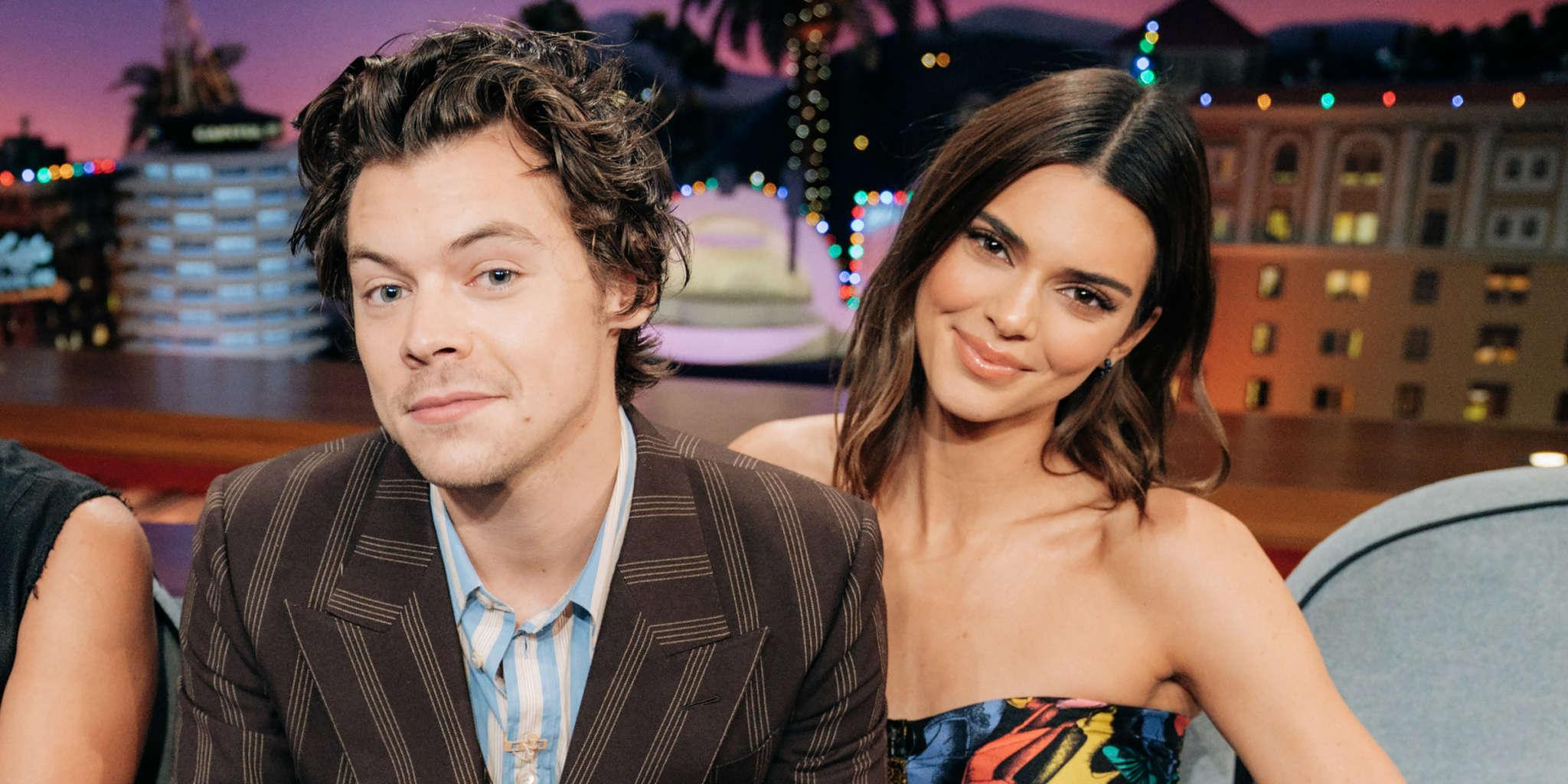 Harry Styles Gets Nervous During Awkward Ellen DeGeneres Discussion About His Ex Kendall Jenner
