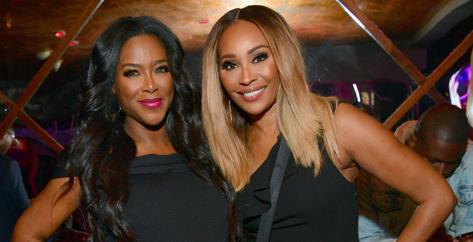 Kenya Moore Talks About The Pettiness That Happens Between Her And Cynthia Bailey On RHOA