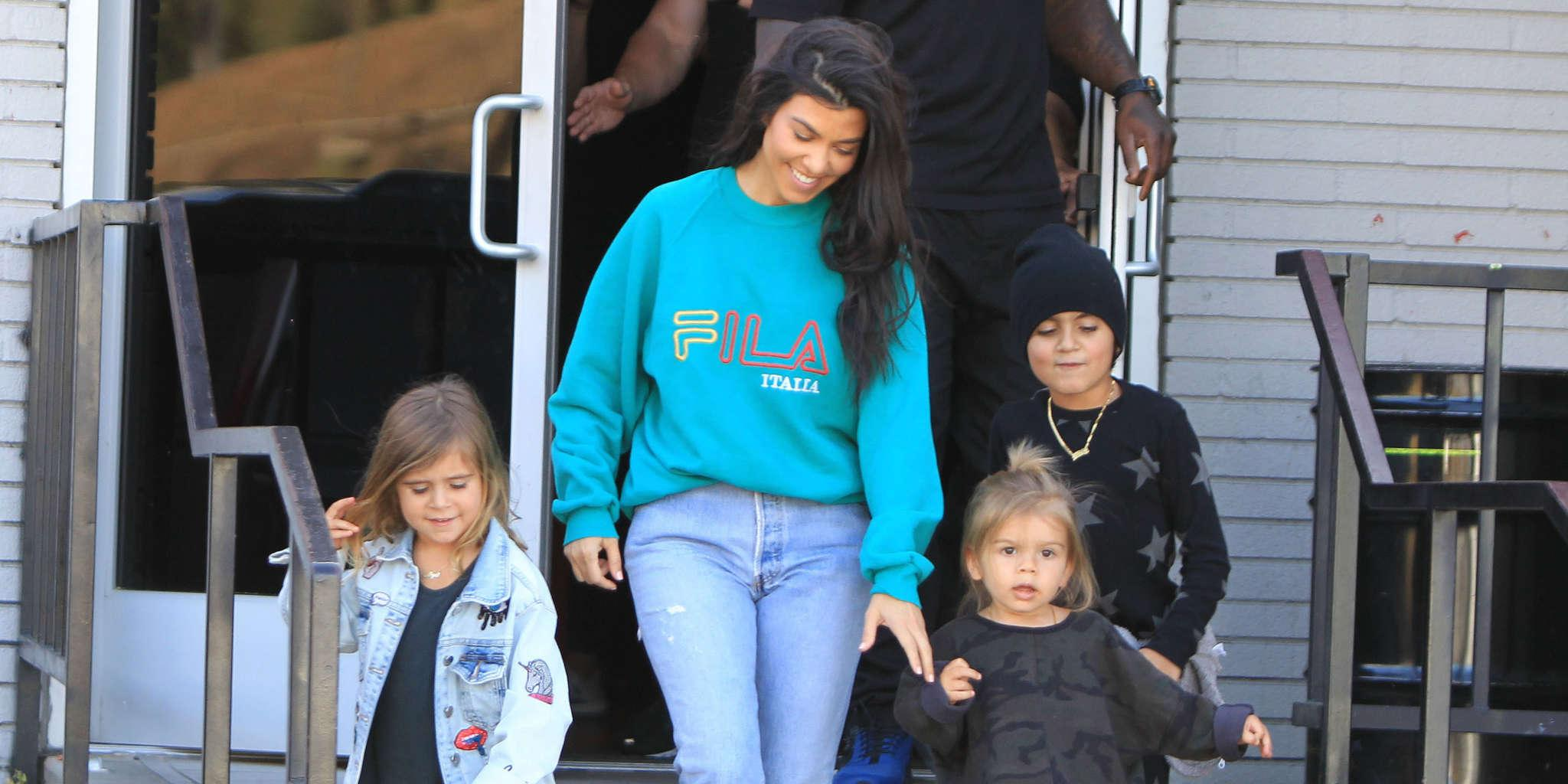 KUWK: Kourtney Kardashian Reveals Her Kids Already Have A Skincare Routine And Gets Mixed Reactions From Fans