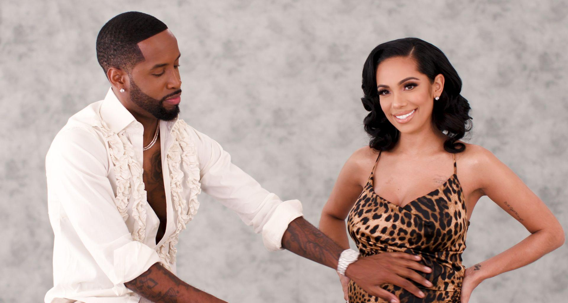 Erica Mena And Safaree's Gang Was Reportedly Involved In A Physical Altercation; Nicki Minaj's Name Was Brought Up - Erica Slams The Claims
