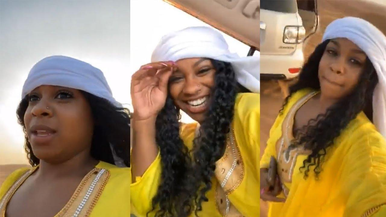 Toya Wright Is Living The Experience Of Her Life With Robert Rushing And Reginae Carter In Dubai