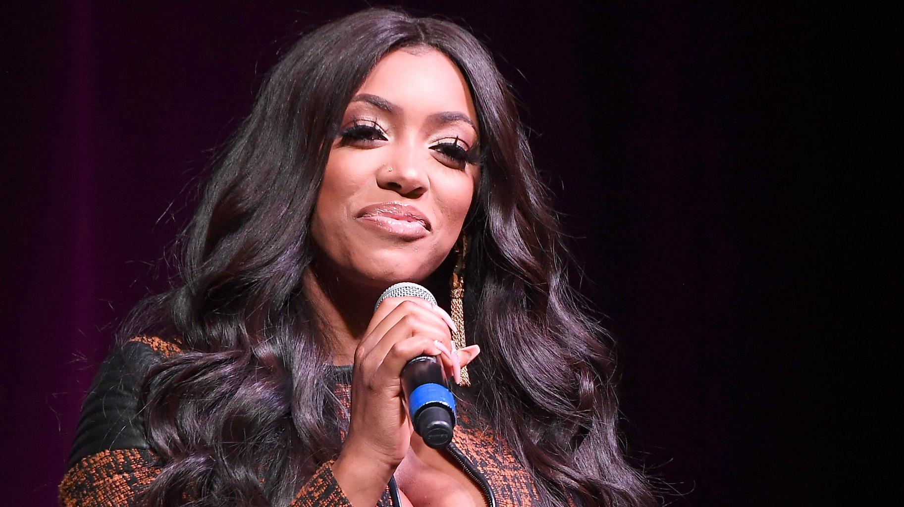 Porsha Williams Shares Gorgeous Photos From Her Christmas Celebration With Dennis McKinley And Baby Pilar Jhena