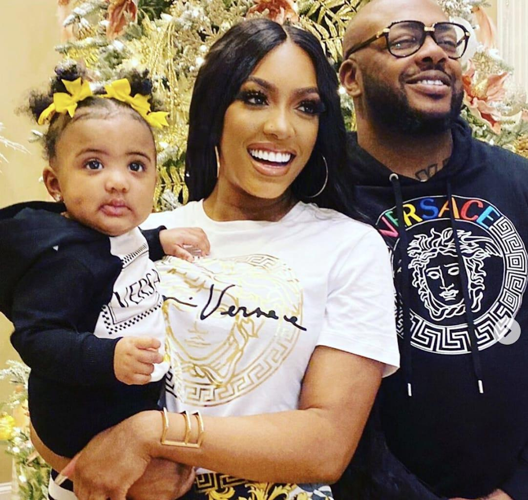 Porsha Williams And Dennis McKinley Took Their Baby Girl On A Mexico Vacay - See The Pics And Videos