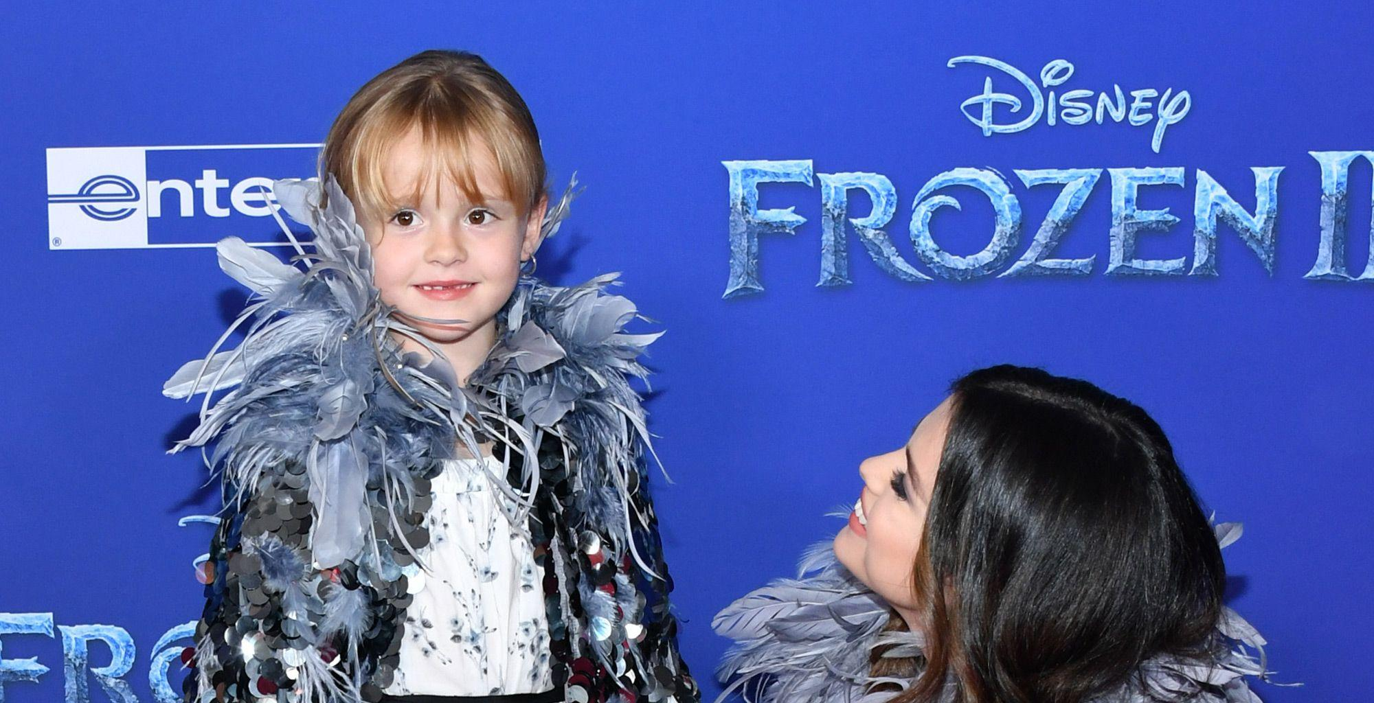 Selena Gomez Shares The Sweet Thing She Told Her Little Sister Before Her Red Carpet Debut