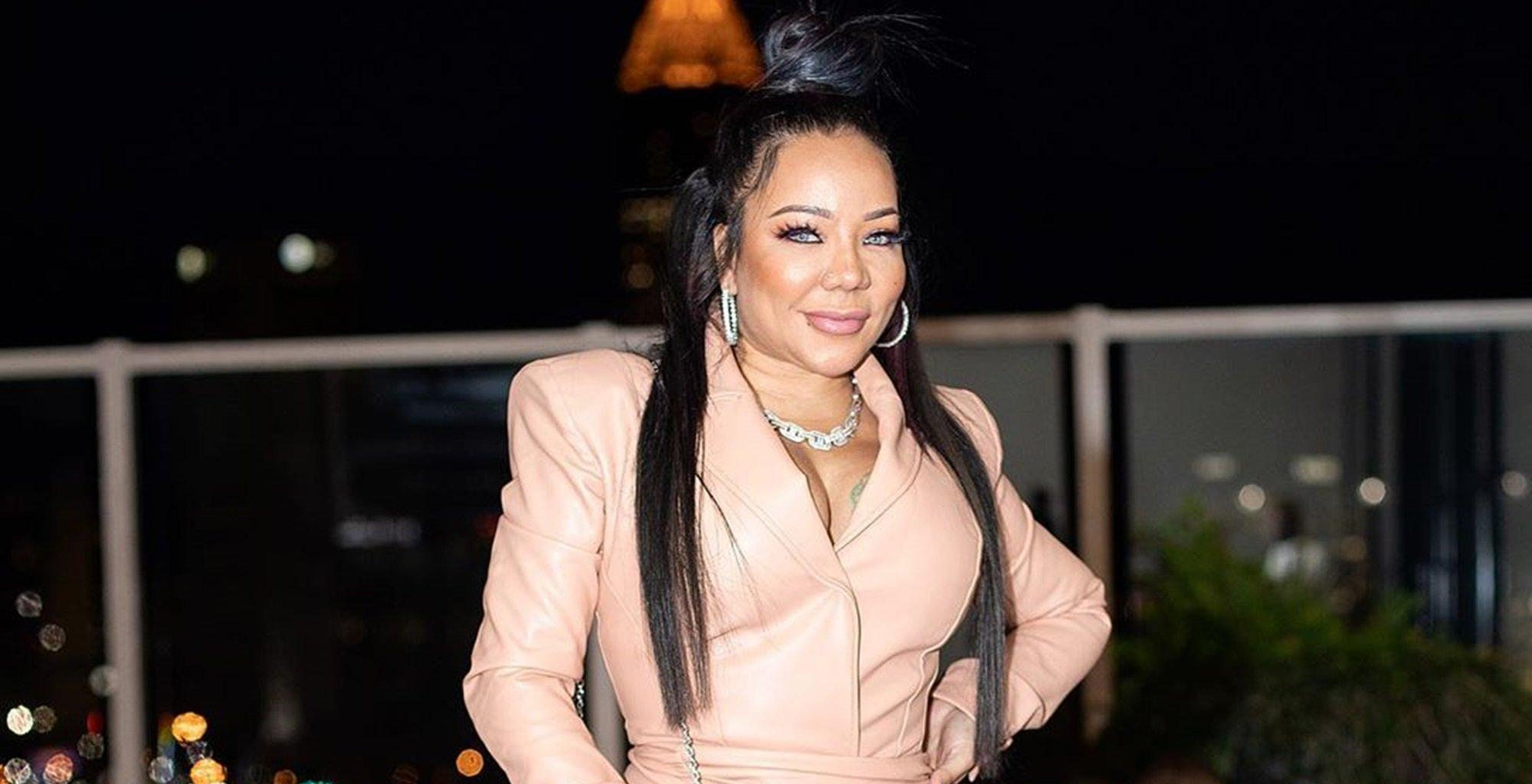 Tiny Harris Receives Sentimental Gifts Featuring The Late Precious Harris