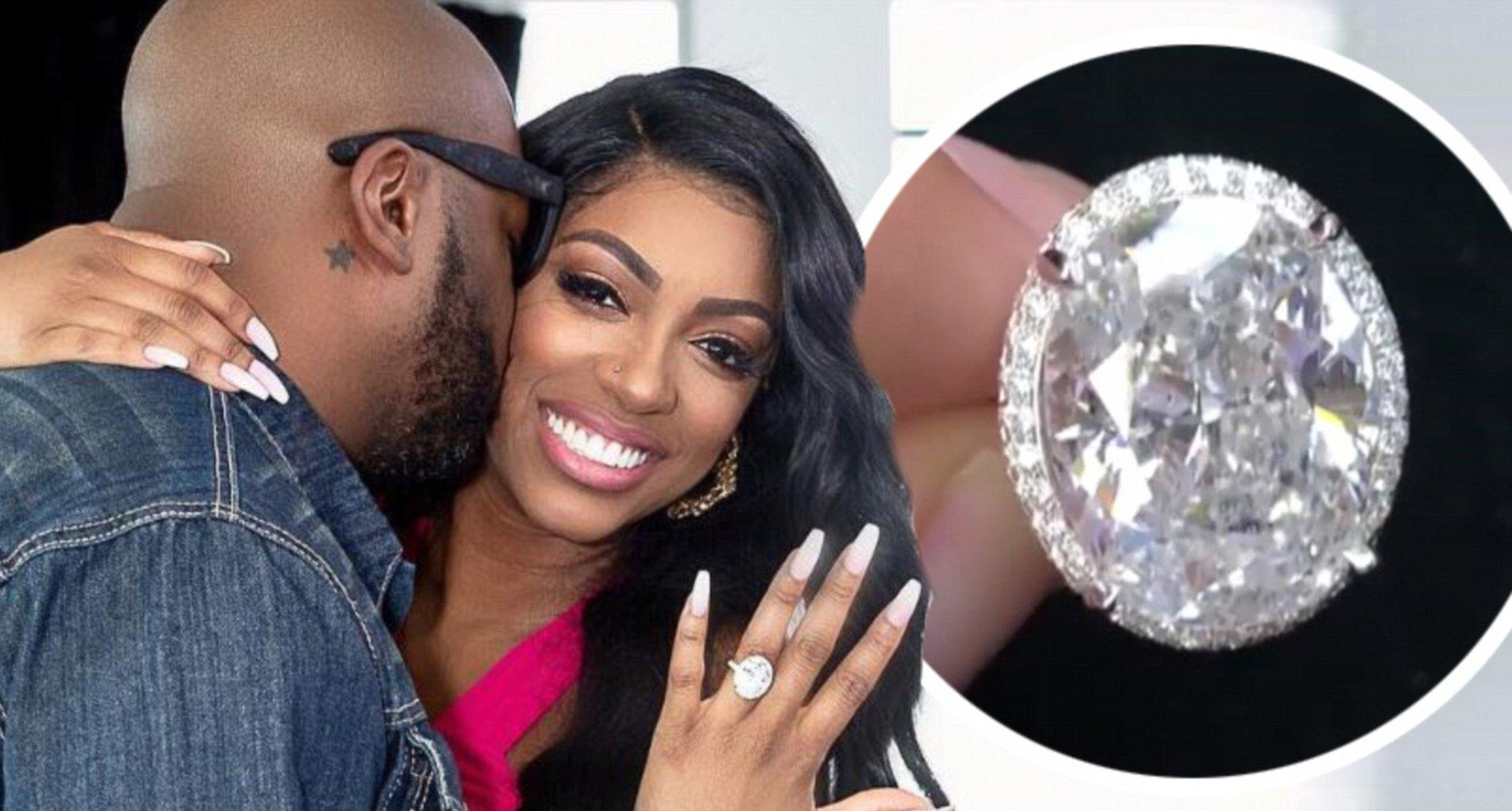Porsha Williams Looks Amazing In A Royal Blue Sequin Mini Dress While On WWHL And Fans Notice She's Not Wearing Her Ring