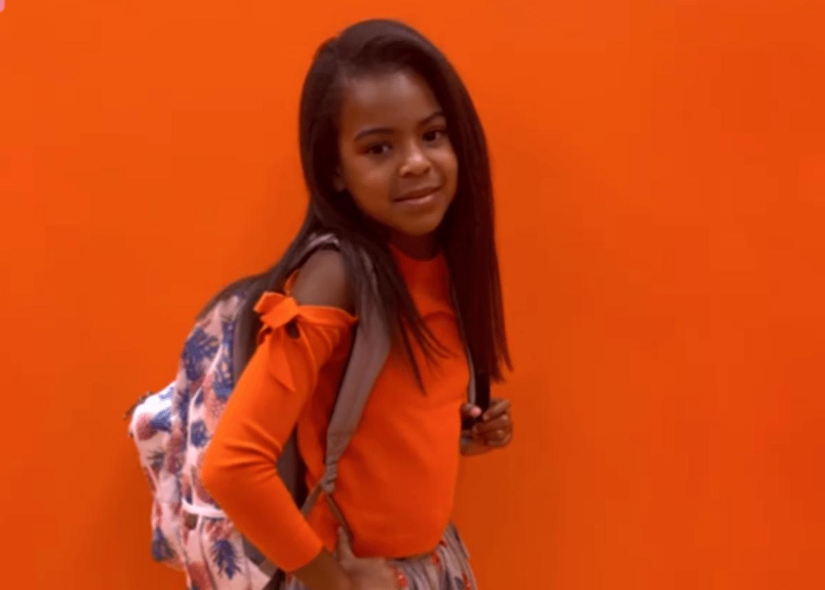 Blue Ivy Carter Looks Beautiful In Orange In New Birthday Photos — Eight-Year-Old Looks Just Like Beyonce