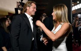 Brad Pitt And Jennifer Aniston Reunite Backstage At The SAG Awards And Fans Are Freaking Out