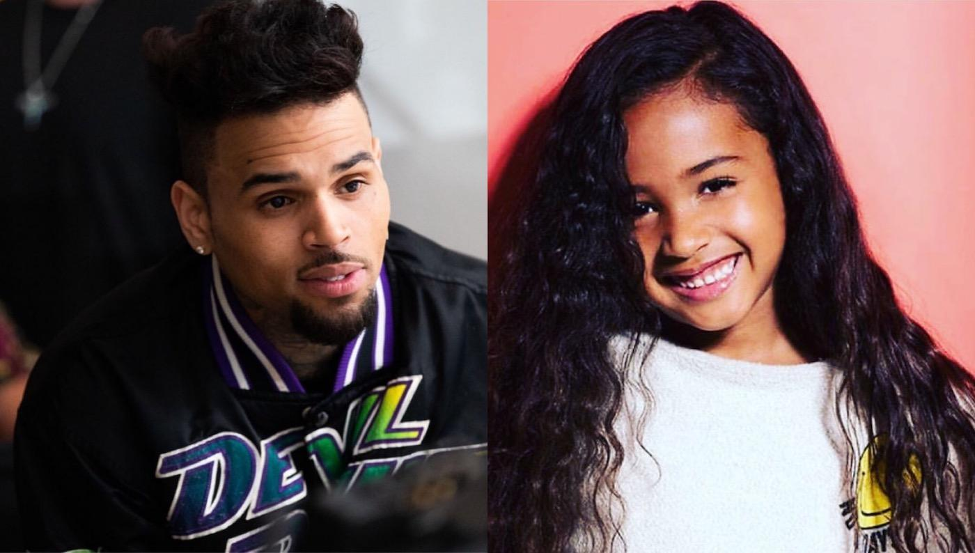Chris Brown Raves About His 'Super Girl' Royalty, Posts New Super Cute Pic Of The 5-Year-Old!