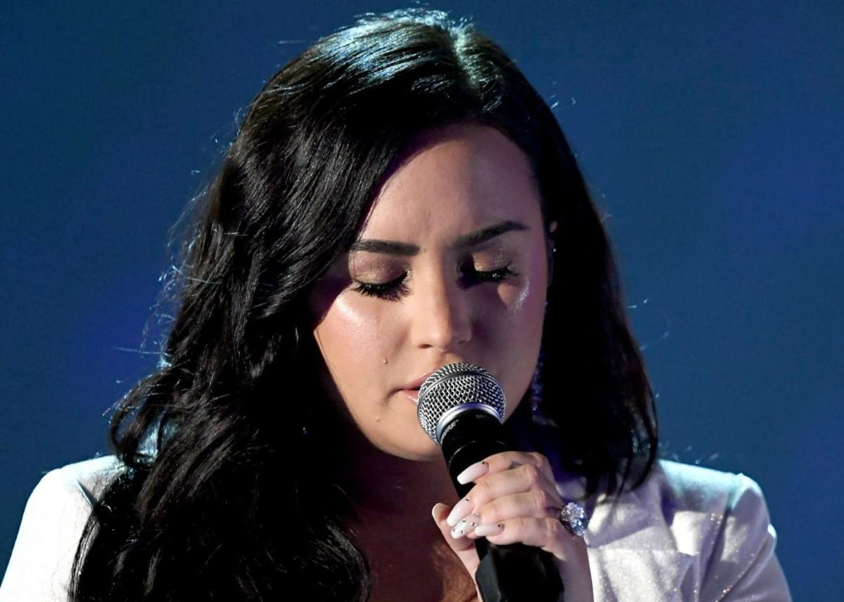Demi Lovato Performs Heartbreaking Song 'Anyone' At The Grammys That She Recorded Before Her Overdose — Listen Now