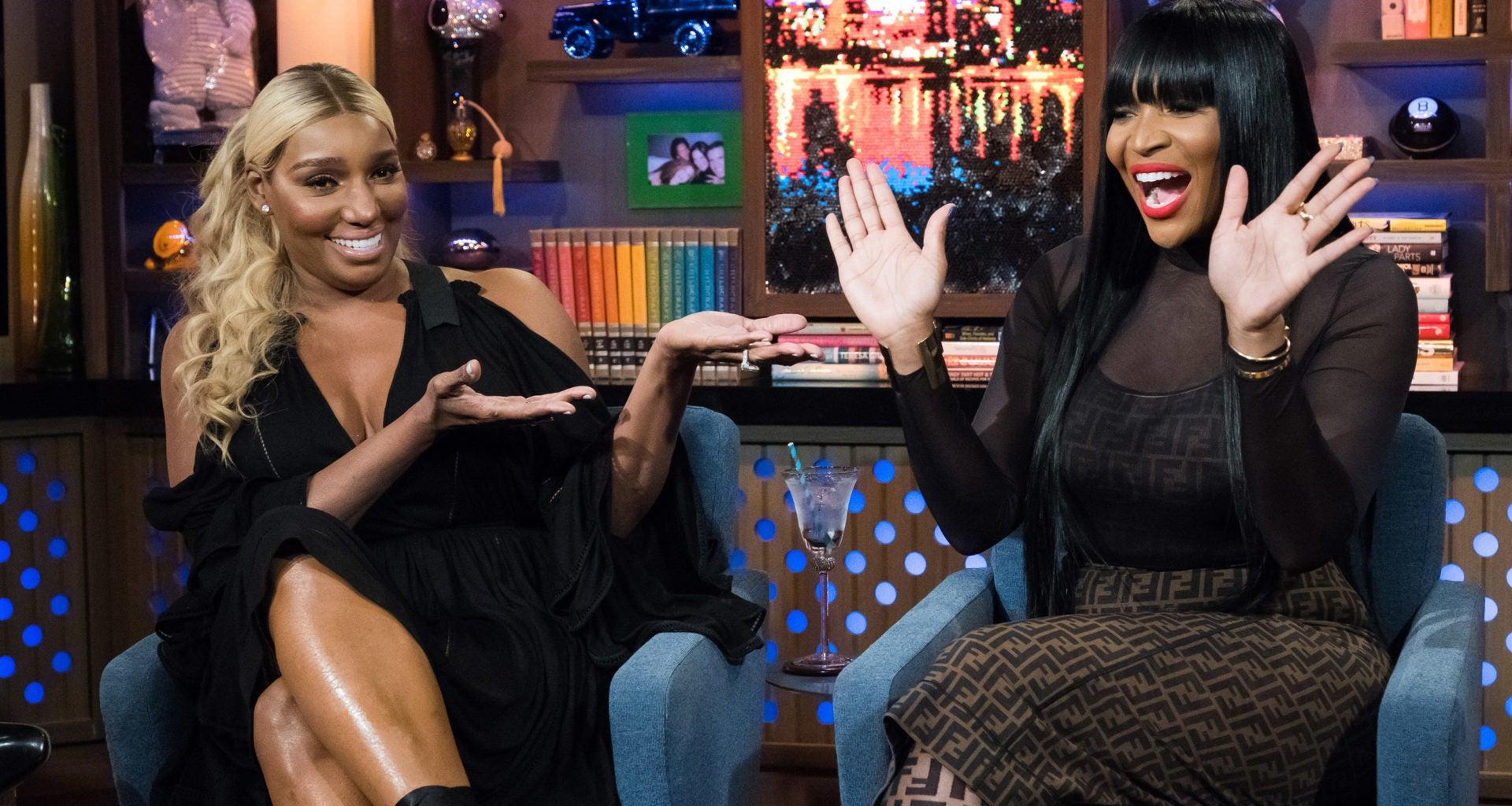NeNe Leakes Shares A Behind The Scene Photo From The RHOA Set With Marlo Hampton - Fans Say Marlo Looks 21!
