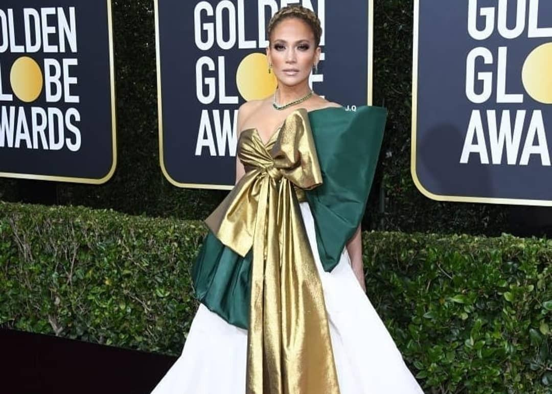 Jennifer Lopez Wore Valentino To 77th Golden Globes