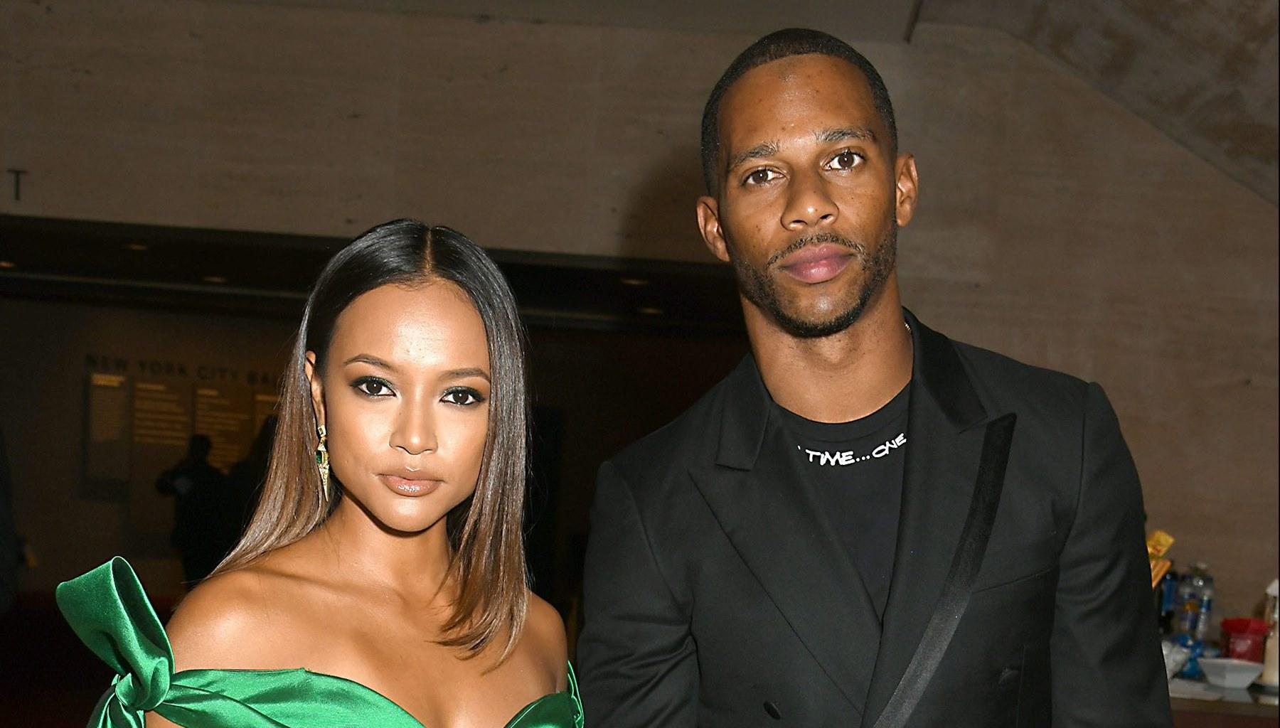 Karrueche Tran's Lovey-Dovey Photo With Victor Cruz Has Fans Asking Her To Show The Engagement Ring