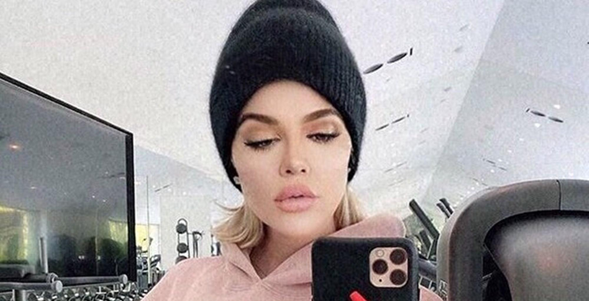 Khloe Kardashian Shares Her Beast Mode Workout Photos, Critics Laugh At Them For This Reason