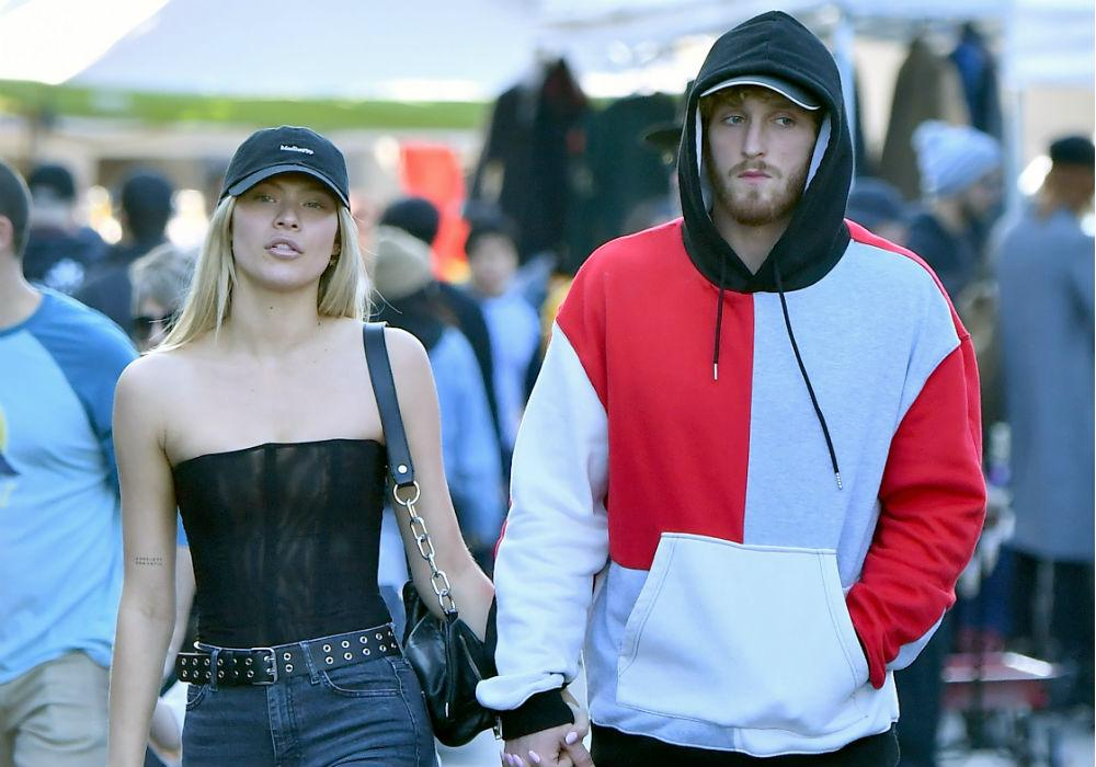Logan Paul & Josie Canseco Spotted Holding Hands At Rose Bowl Flea Market