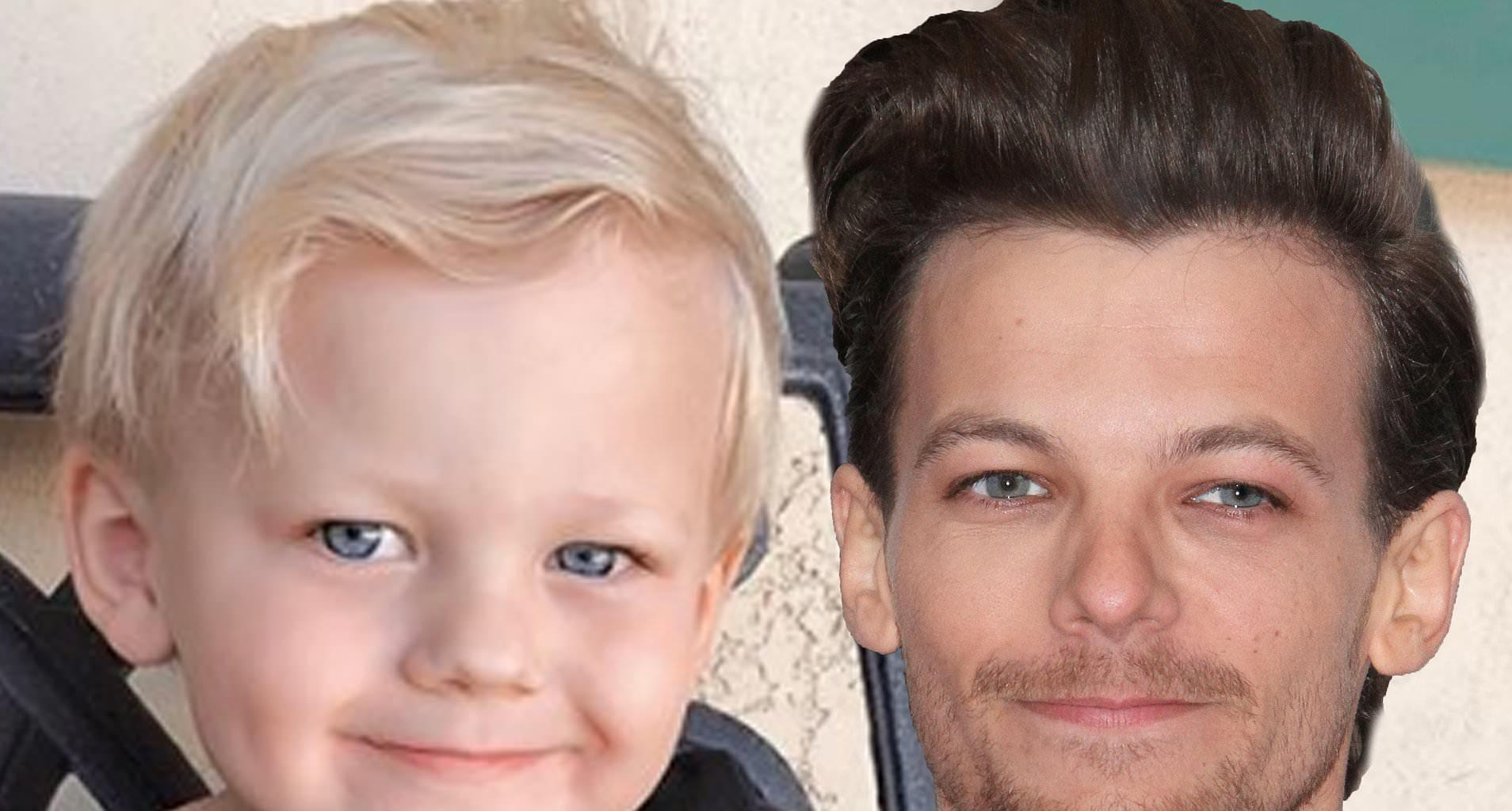 Louis Tomlinson's Son Looks Like His Spitting Image In Rare Pic Posted By His Mom On His 4th Birthday!