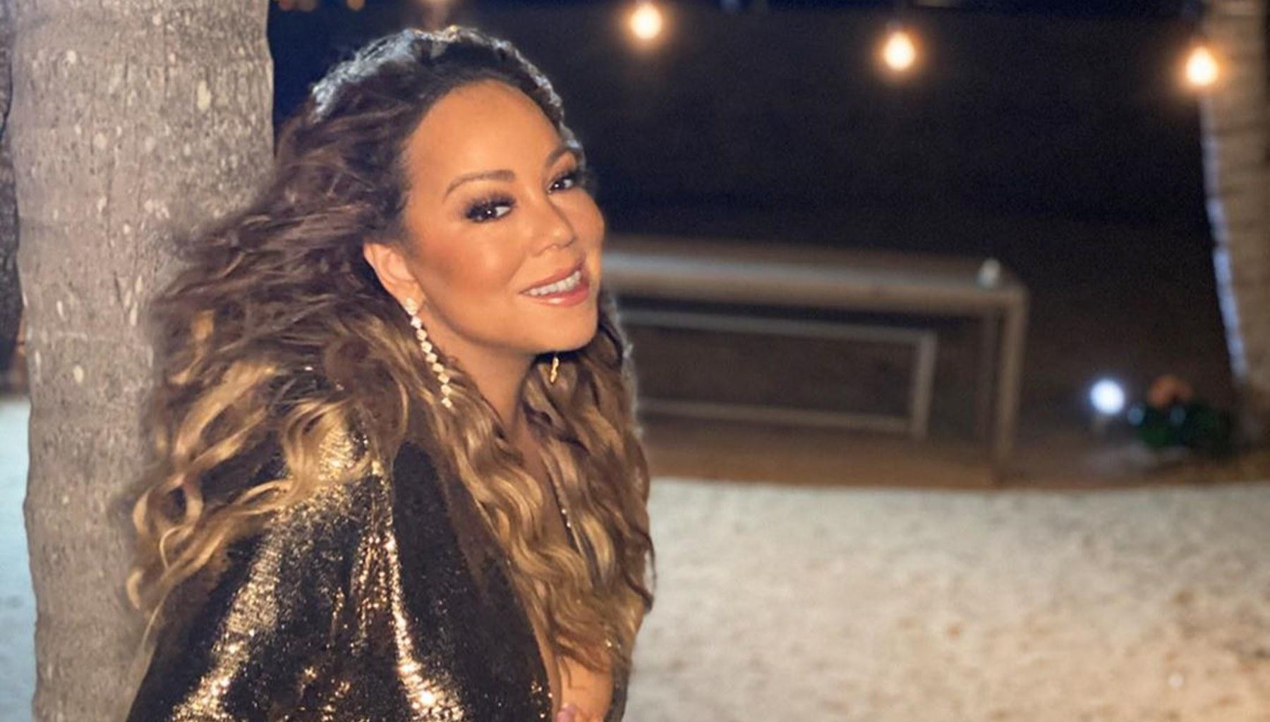 Mariah Carey Has All The Men She Dated In One Photo For Dolly Parton Challenge And Fans Say She Is Throwing Shade At One Of Them