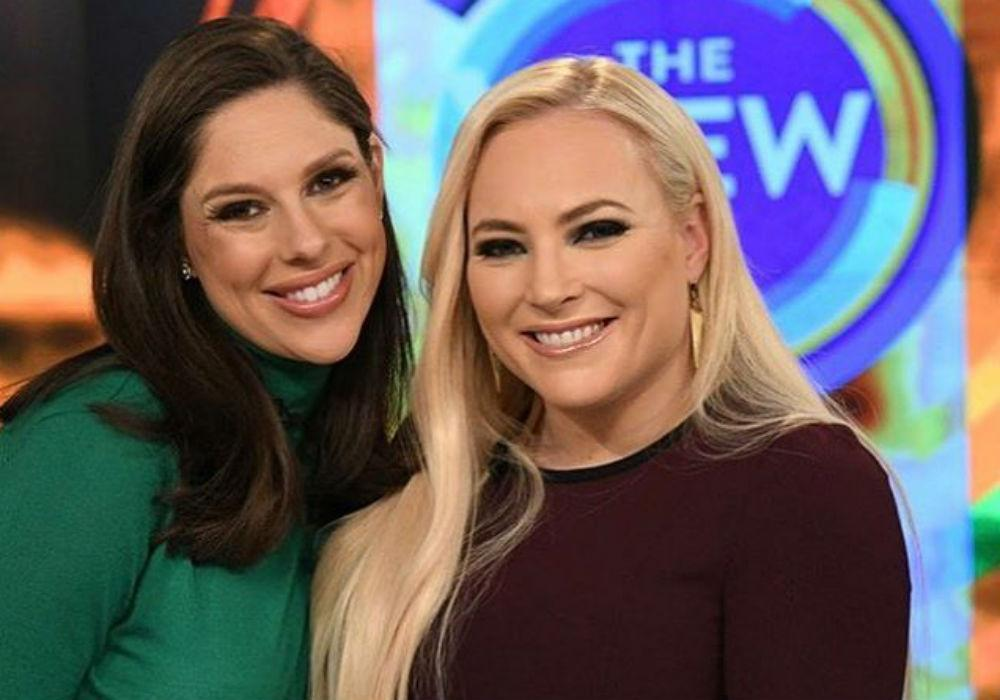 Meghan McCain Admits To Fight With Her Former The View Co-Host Abby Huntsman
