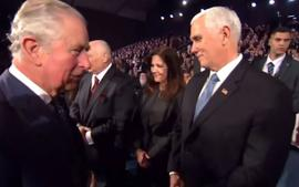 Prince Charles Refuses To Shake Mike Pence's Hand In Viral Video
