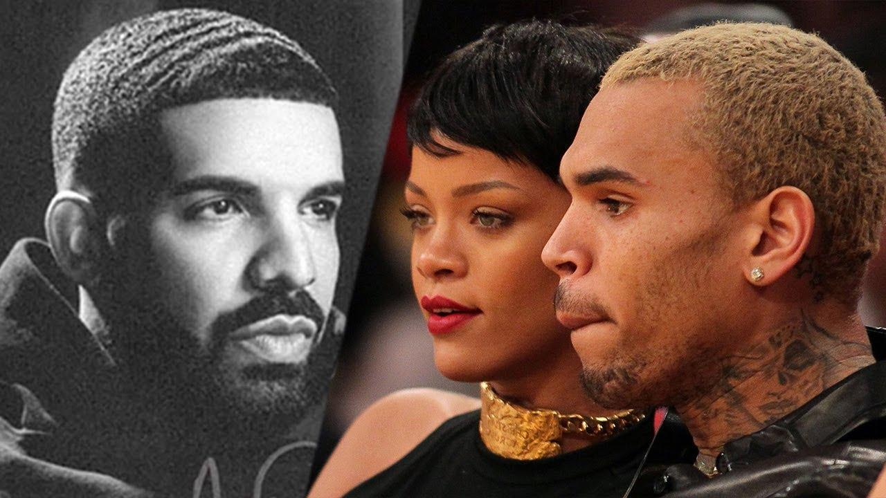 Rihanna - Here's How She Reportedly Reacted To Her Exes Drake And Chris Brown Becoming Friends