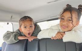 Kim Kardashian Says Saint And North West Are Finally Getting Along As Chicago Sings Her Love For Jesus