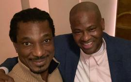 David Adefeso Shocks Fans By Posting A Photo With Vincent Herbert - These Two Have A Great Time Hanging Out Together