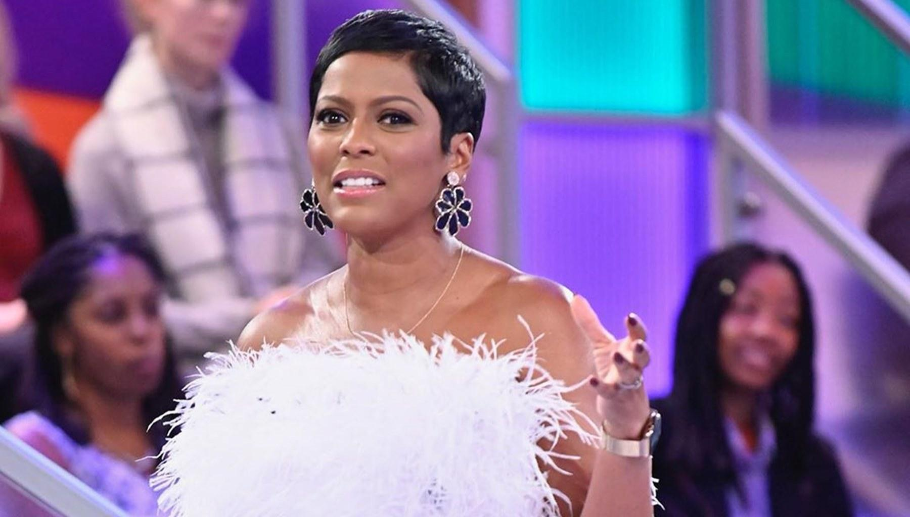 Tamron Hall Shares Sweet Photo Of Herself, With Her Husband, Steven Greener, And Their Son, Moses, Rocking The Same Hairstyle
