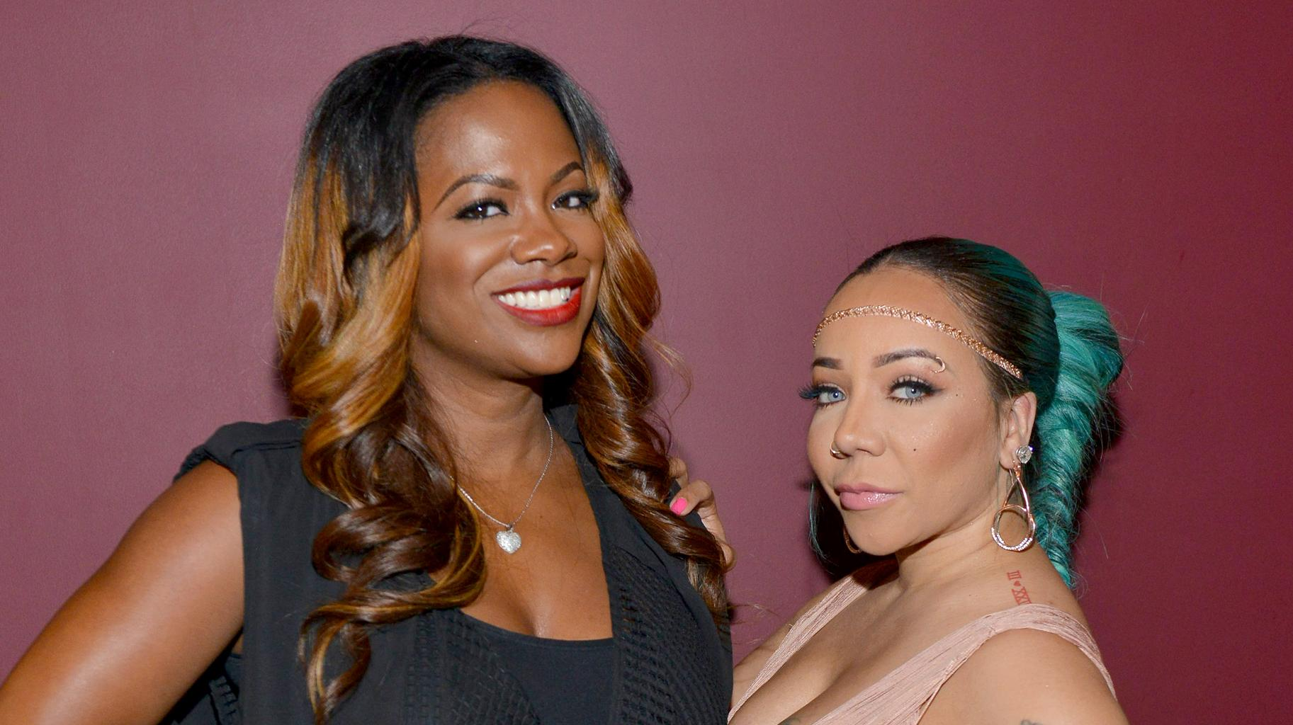 Tiny Harris' Daughter Heiress And Kandi Burruss' Son Ace Hug In The Cutest Video Ever!