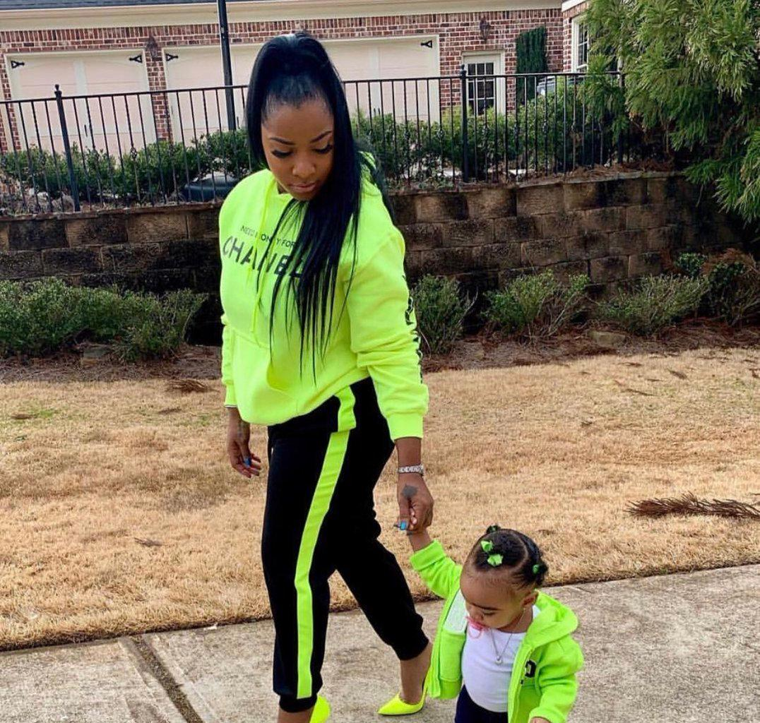 Toya Johnson's Baby Girl, Reign Rushing Has The Time Of Her Life At A Birthday Party