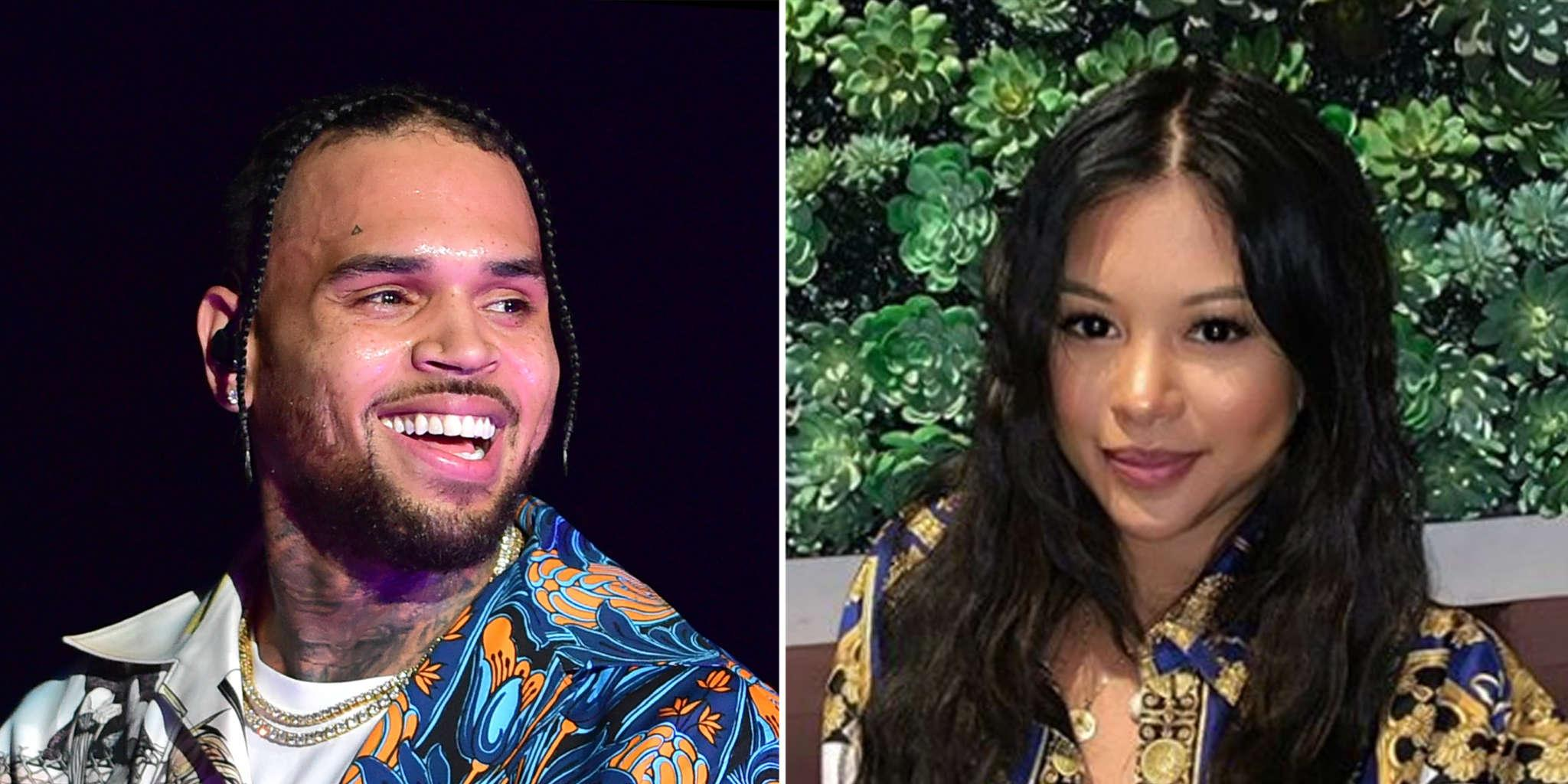 Chris Brown Shares Adorable Clip Of Ammika Harris Kissing Their Baby Boy - Check It Out!