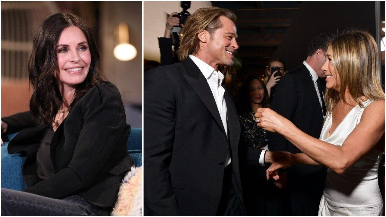 Courteney Cox Thinks Jennifer Aniston And Brad Pitt's Reunion Was 'Beautiful' But Not For The Same Reason As Everyone Else!