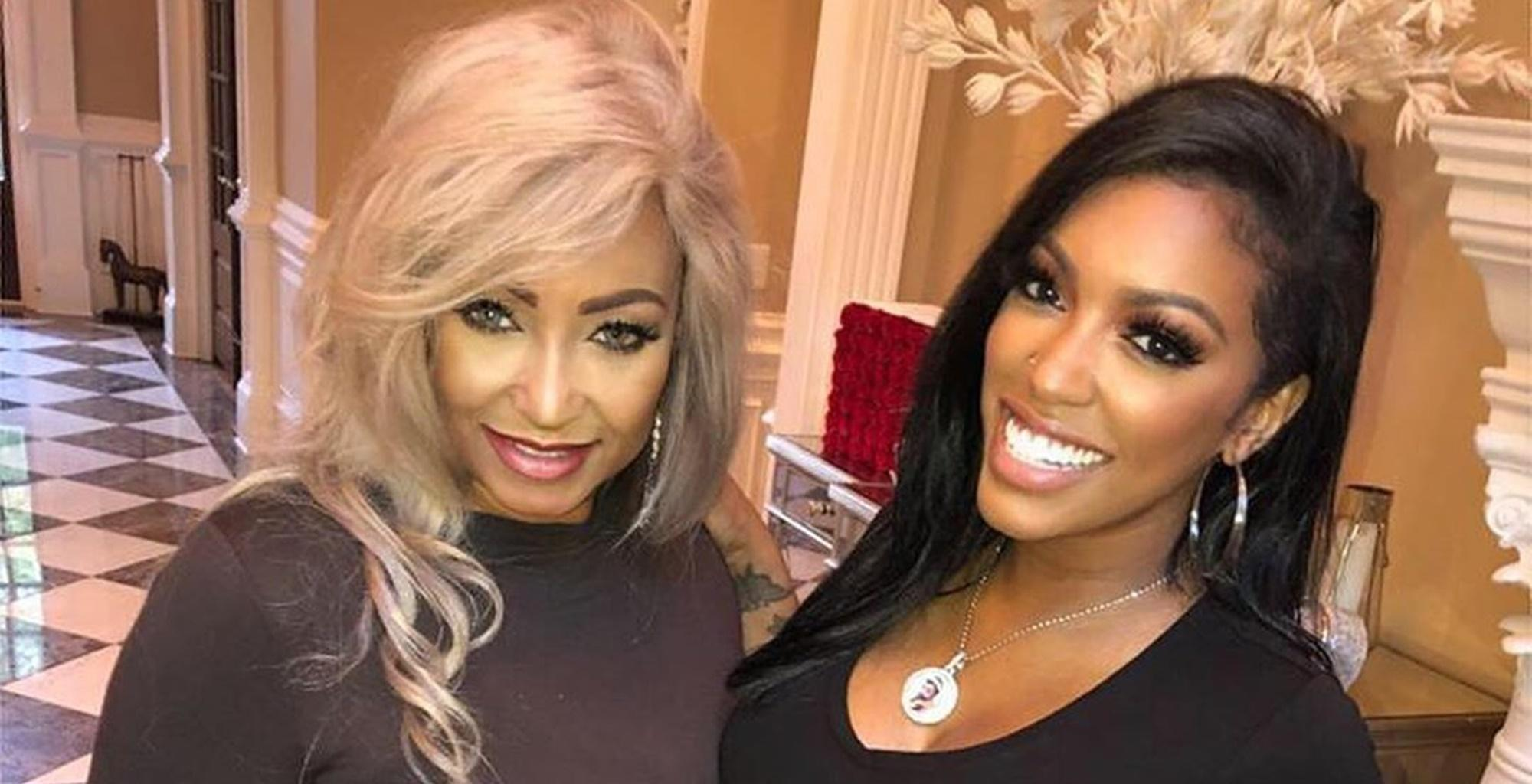 Porsha Williams Offers One Mom The Makeover Of Her Dreams! See The Video She Shared Featuring Her Own Gorgeous Mother, Diane Williams