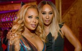 Eva Marcille Poses With Cynthia Bailey For Bravo TV At RHOA Aftershow