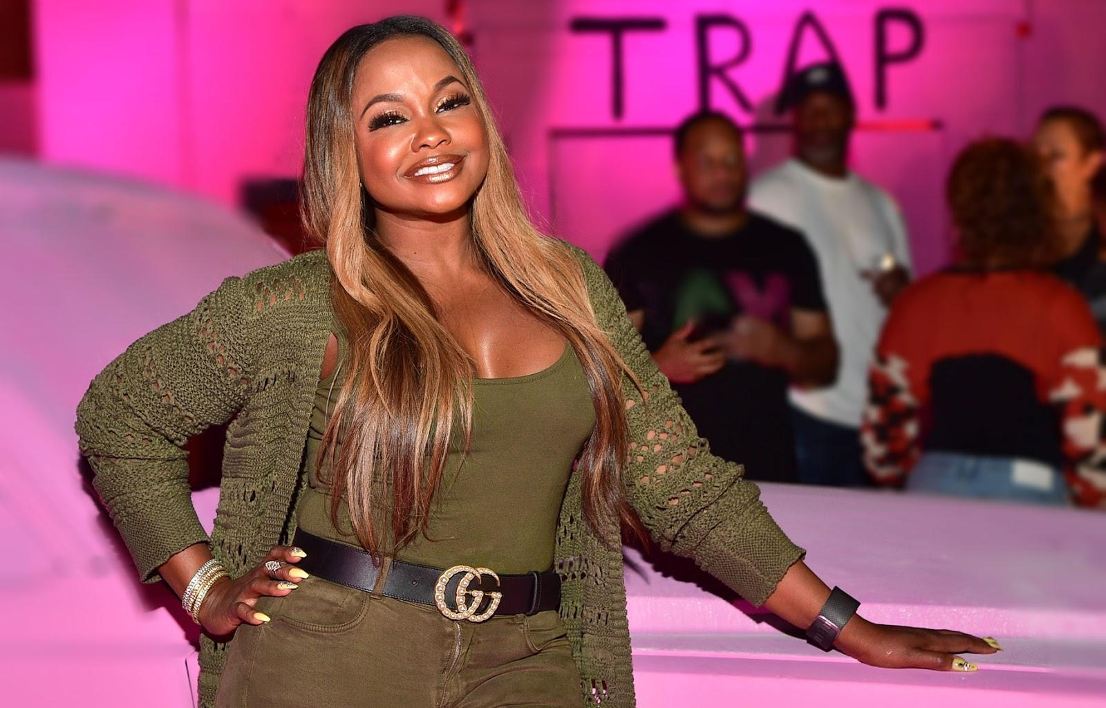 Phaedra Parks Poses With Her Two Sons And Fans Cannot Get Enough Of This Little Family
